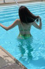BLANCA BLANCO in Bikini at Four Seasons Hotel Pool in Beverly Hills 04/06/2019