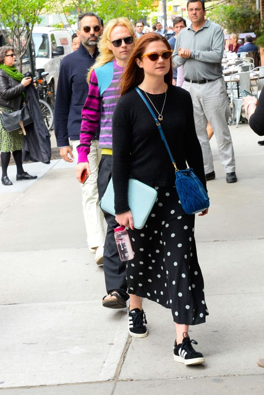 BONNIE WRIGHT Out and About in New York 04/25/2019