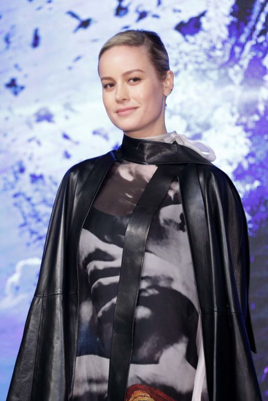BRIE LARSON at Avengers: Endgame Premiere in Seoul 04/15/2019 | celebrityparadise - hollywood , celebrities , babes & more