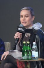 BRIE LARSON at Avengers: Endgame Press Conference in Seoul 04/15/2019