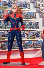 BRIE LARSON at Avengers Universe Unites Charity Event in Anaheim 04/05/2019