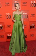 BRIE LARSON at Time 100 Gala in New York 04/23/2019