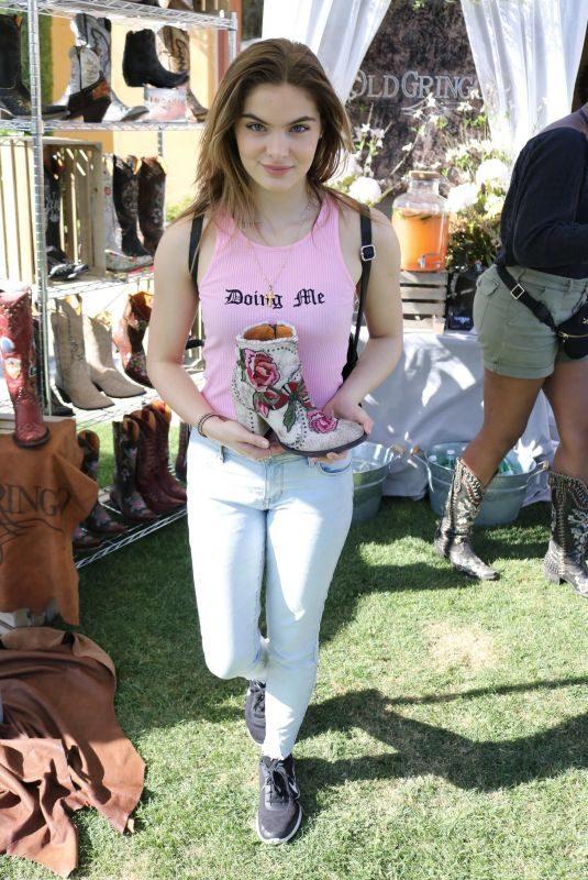 BRIGHTON SHARBINO at Coachella Street Fair in Indio 04/12/2019