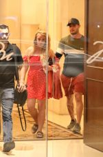 BRITNEY SPEARS Leaves Montage Hotel in Beverly Hills 04/21/2019
