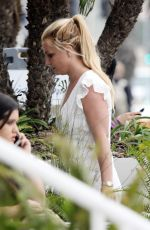 BRITNEY SPEARS Out in Santa Monica 04/24/2019