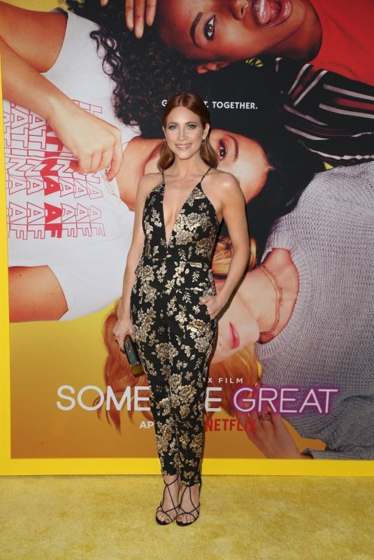 BRITTANY SNOW at Someone Great Special Screening in Hollywood 04/17/2019
