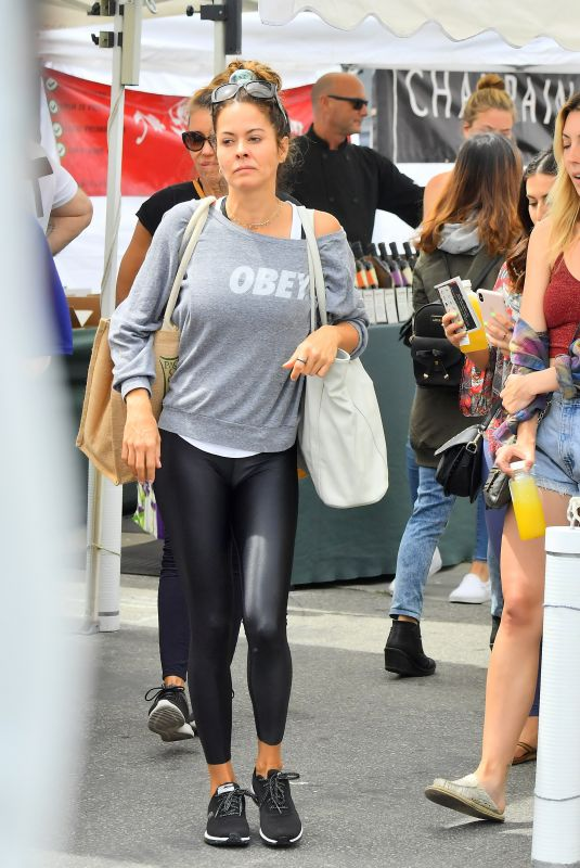 BROOKE BURKE Out Shopping in Malibu 04/08/2019