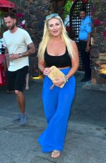 BROOKE HOGAN Leaves Ciroc Summer House Coachella Party 04/12/2019