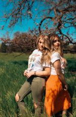 BROOKE SRENSON and ALEXA SUTHERLAND on the Set of a Photoshoot, March 2019