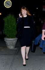 BRYCE DALLAS HOWARD Night Out in New York 04/04/2019
