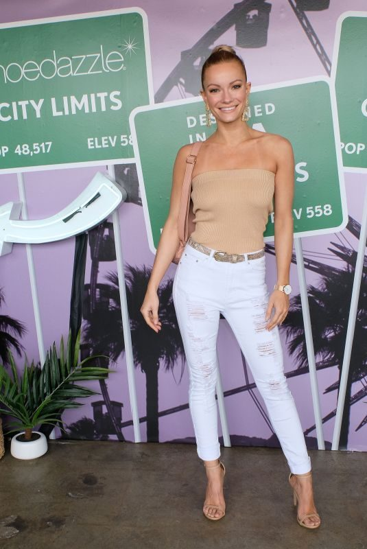 CAITLIN O'CONNOR at Justfab and Shoedazzle Present: The Desert Oasis in Los Angeles 04/04/2019