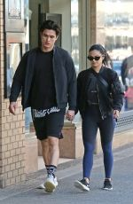 CAMILA MENDES and Charles Melton Out in Vancouver 04/09/2019