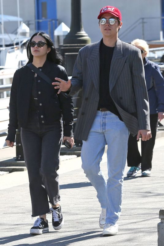 CAMILA MENDES and Cole Sprouse Out in Vancouver 03/31/2019
