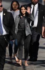 CAMILA MENDES Arrives at Jimmy Kimmel Live! in Hollywood 04/10/2019