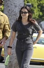 CAMILA MENDES Out for Lunch in Los Angeles 04/25/2019