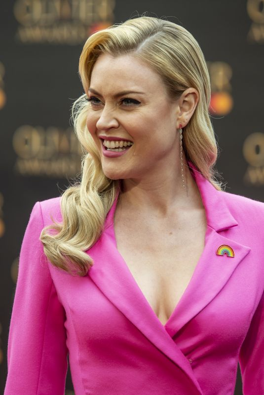 CAMILLA KERSLAKE at 2019 Laurence Olivier Awards in London 04/07/2019