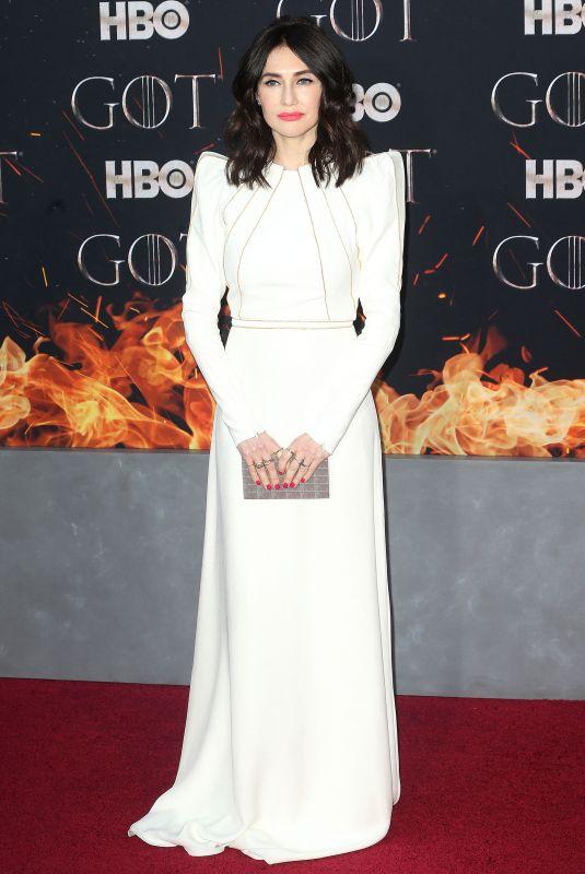 CARICE VAN HOUTEN at Game of Thrones, Season 8 Premiere in New York 04/03/2019