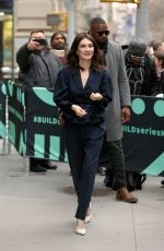 CARICE VAN HOUTEN Out and About in New York 04/02/2019