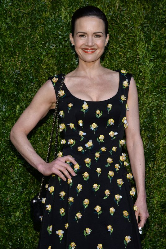 CARLA GUGINO at 14th Annual Tribeca Film Festival Artists Dinner Hosted by Chanel 04/29/2019