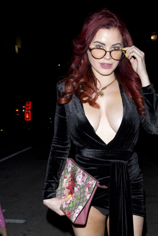 CARLA HOWE at The Sunset Room Night Club in Hollywood 04/11/2019