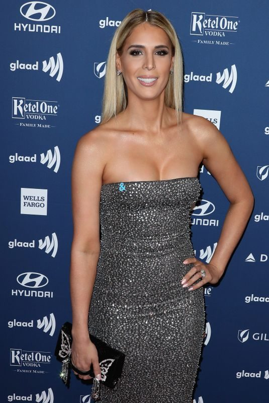 CARMEN CARRERA at 2019 Glaad Media Awards in Los Angeles 03/28/2019