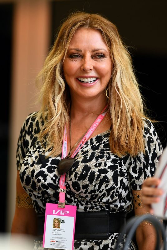 CAROL VONDERMAN at F1 Grand Prix in Bahrain 03/31/2019