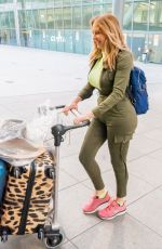 CAROL VORDERMAN at Heathrow Airport in London 04/02/2019