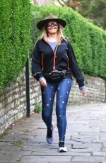 CAROL VORDERMAN Out in Bristol 04/22/2019