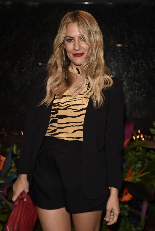 CAROLINE FLACK at The Ivy Manchester Roof Top Re-launching a Circus Party in Manchester 04/12/2019