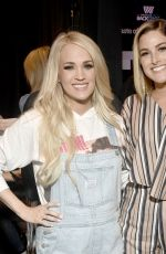 CARRIE UNDERWOOD at 54th Academy of Country Music Awards Cumulus/Westwood One Radio Remotes in Las Vegas 04/05/2019