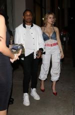 CAYLEE COWAN at Catch LA in West Hollywood 04/08/2019