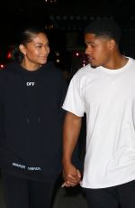 CHANEL IMAN and Sterling Shepard at L