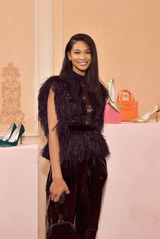 CHANEL IMAN at Hotel Vivier Cocktail Party in Los Angeles 04/02/2019