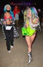 CHANEL WEST COAST at Neon Carnival at Coachella in Palm Springs 04/14/2018