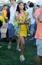 CHANTEL JEFFRIES and Ross Butler at Coachella 2019 in Indio 04/12/2019