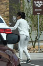CHANTEL JEFFRIES at Chipotle Mexican Grill in Palm Springs 04/15/2019