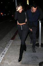 CHANTEL JEFFRIES at Tao Restaurant in Hollywood 04/09/2019