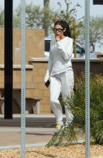 CHANTEL JEFFRIES Out in Palm Springs 04/15/2019