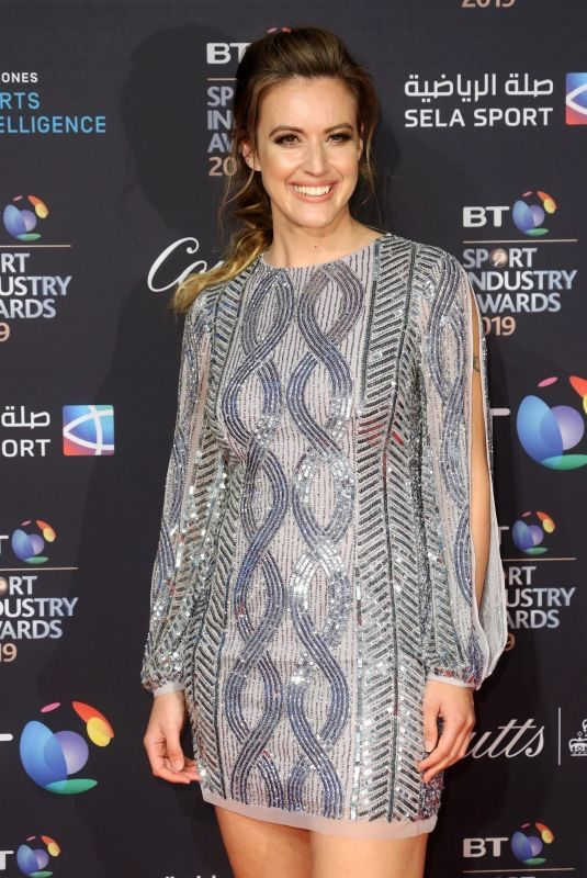 CHARLIE WEBSTER at BT Sport Industry Awards 2019 in London 04/25/2019