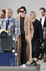 CHARLIZE THERON at Charles De Gaule Airport in Paris 04/23/2019