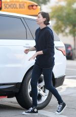 CHARLIZE THERON Out and About in Los Angeles 04/15/2019