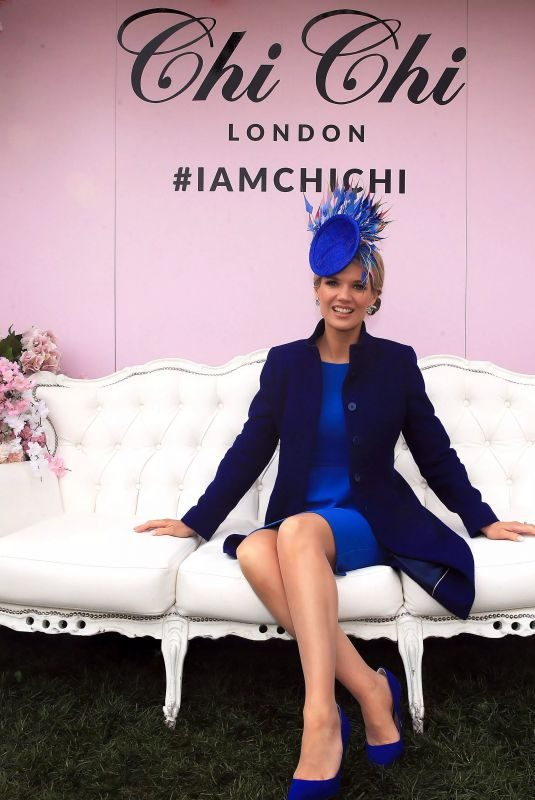 CHARLOTTE HAWNKINS at Grand National Ladies Day at Aintree Racecourse 04/05/2019
