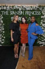 CHARLOTTE HOPE at The Spanish Princess Screening in London 04/10/2019