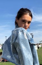 CHARLOTTE LAWRENCE at Coachella - Instagram Pictures and Video, April 2019