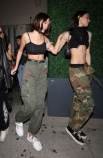 CHARLOTTE LAWRENCE Leaves Delilah Nightclub in West Hollywood 04/05/2019