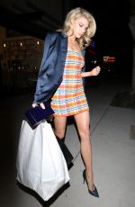 CHARLOTTE MCKINNEY at Starring by Ted Gibson Salon Opening in Los Angeles 04/10/2019