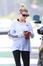 CHARLOTTE MCKINNEY Heading to Yoga Class in Santa Monica 04/24/2019