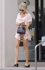 CHARLOTTE MCKINNEY Out and About in Los Angeles 04/05/2019