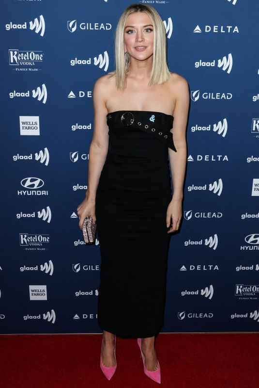 CHELSEA FREI at 2019 Glaad Media Awards in Los Angeles 03/28/2019