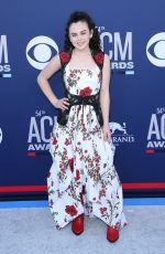 CHEVEL SHEPHERD at 2019 Academy of Country Music Awards in Las Vegas 04/07/2019